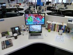 stanowisko w biurze